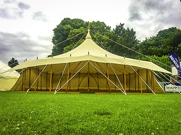 Star Marquee 40ft Festival Marquee