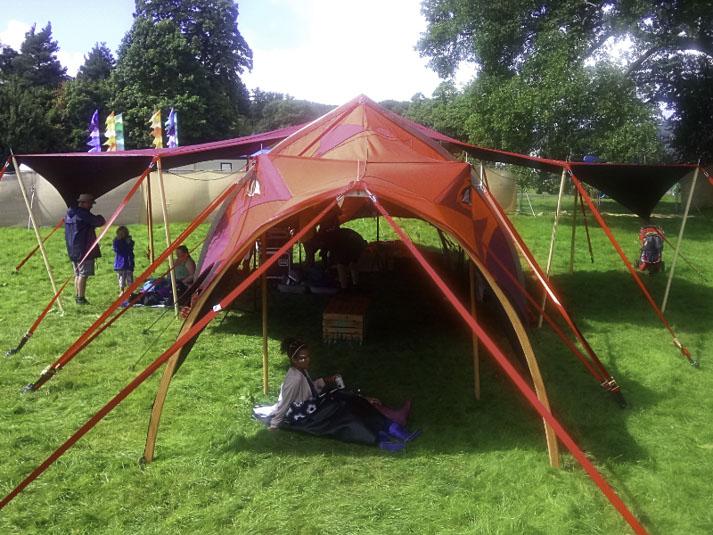 Dragon Tent Unique Festival Venue Space