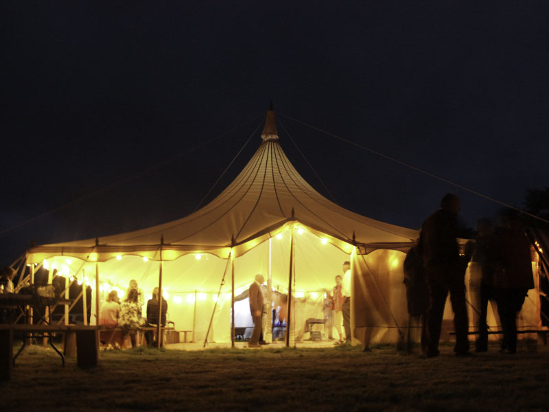 30ft Canvas Party Marquee