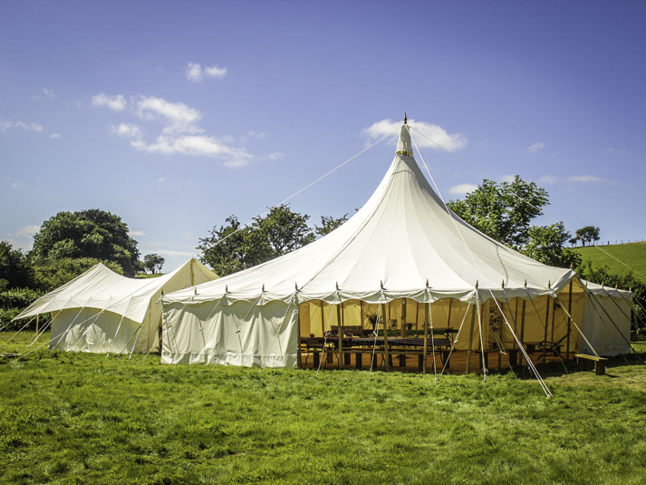 Heartwood Traditional Canvas Marquee