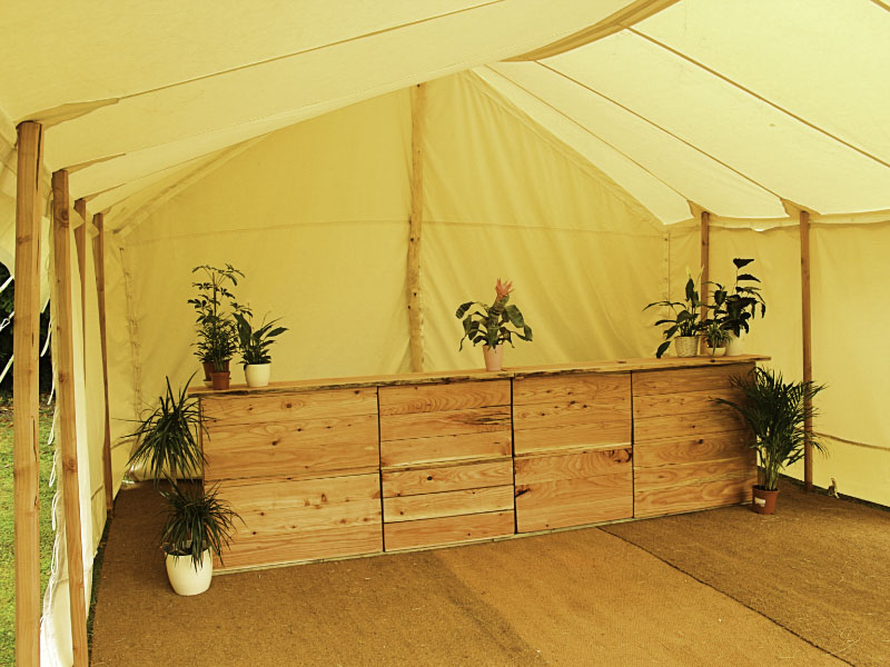Bar in 20 by 15 Marquee