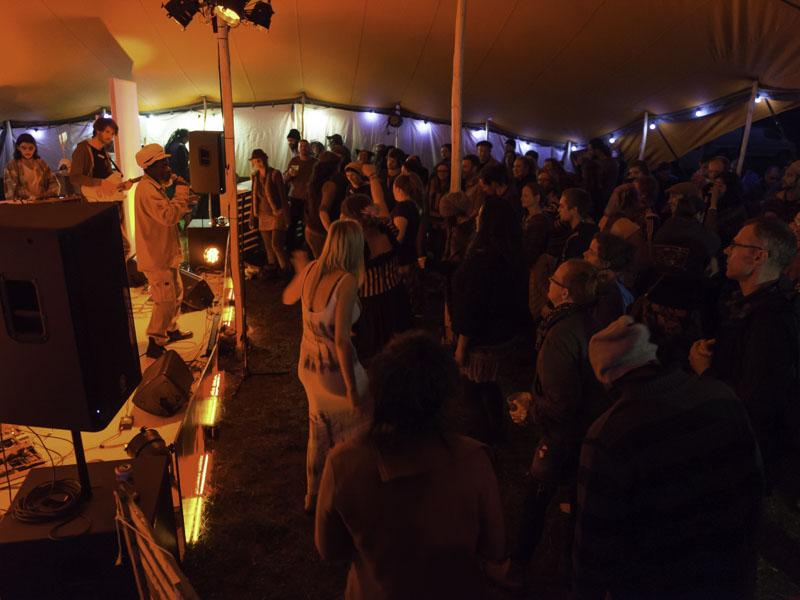 Berber Tent Gig Party Festival Venue