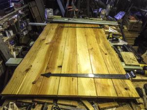 Bespoke Tents Handcrafted Timber Marquee Door