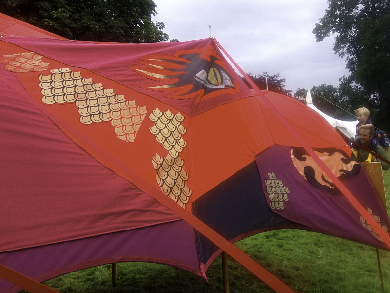 Dragon Tent Head_
