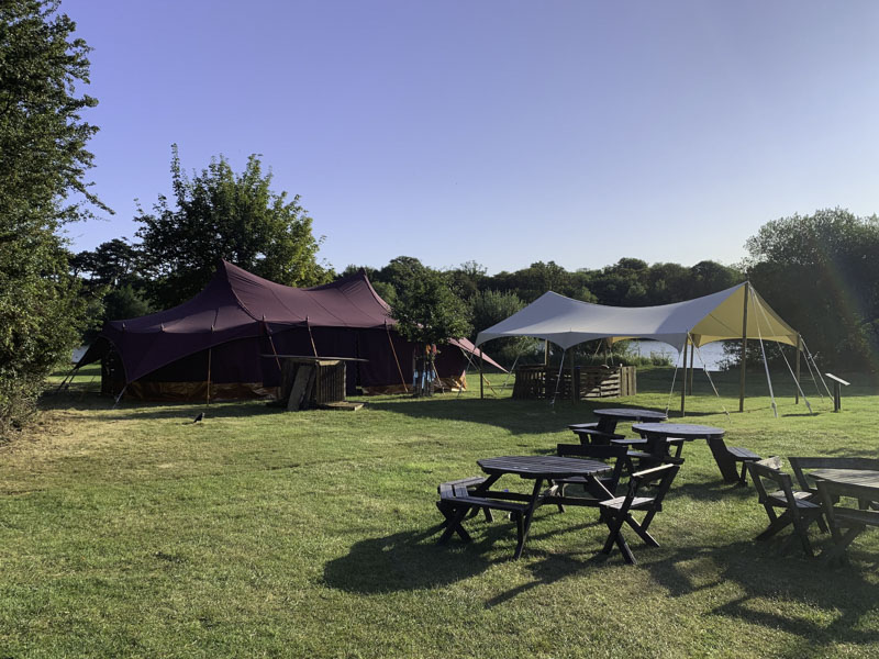 Festival Canvas Marquee and Canopy_