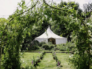 Garden Wedding Marquee