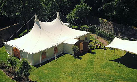 Heartwood Canvas Wedding Marquee Hire