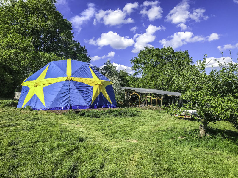 30ft Circus GeoDome to Hire