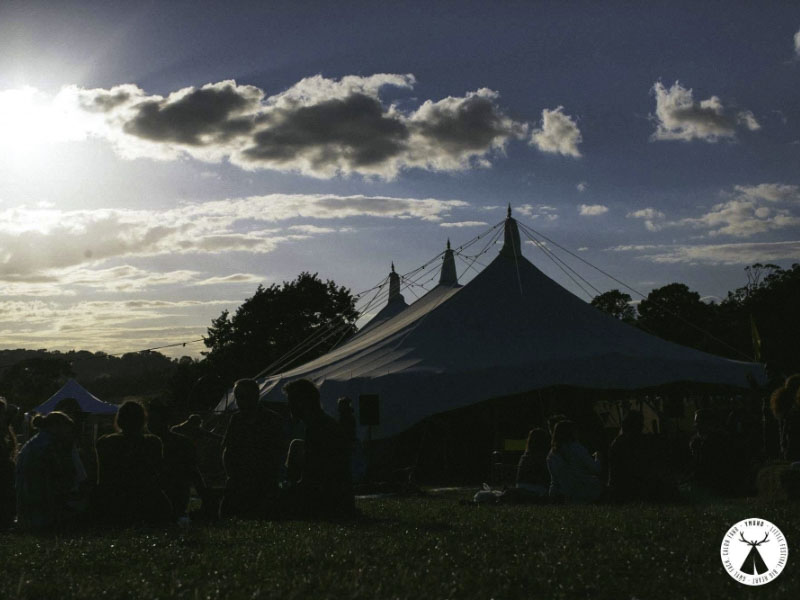 Large Canvas Tensile Marquee