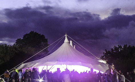 Star Marquee at Woodfest