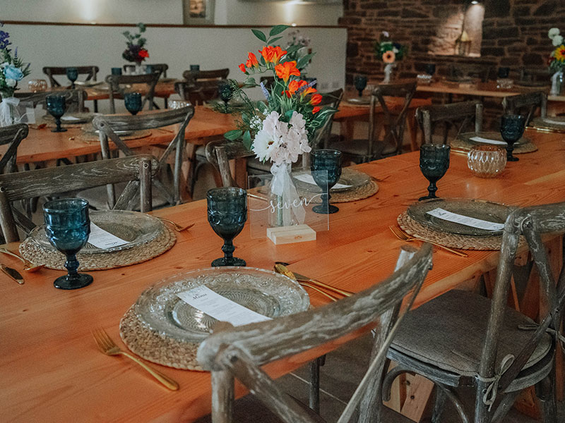 Stunning Handmade Tables and Furniture For Weddings and Events