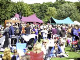 Templar Burgundy Canvas Festival Marquee & Gorgeous canopy woodfest 2017
