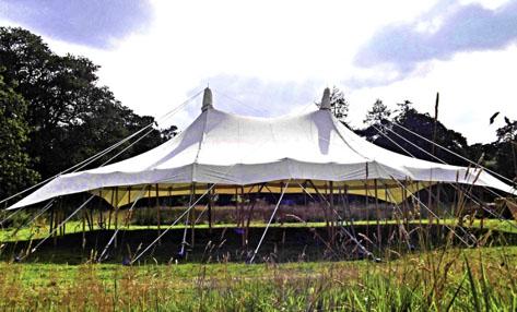 Festival Tent Hire Canvas