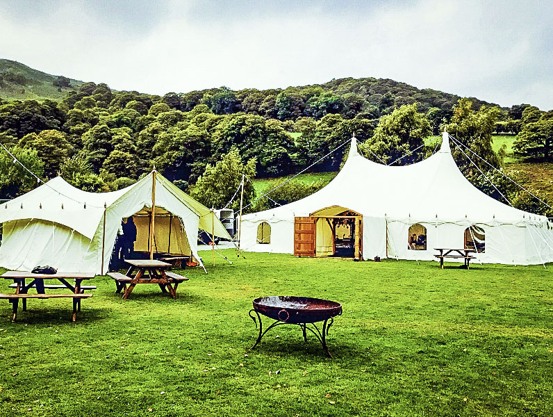 Traditional Canvas Marquee Sets