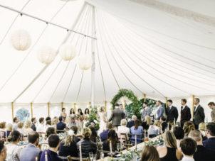 Wedding Marquee Interior