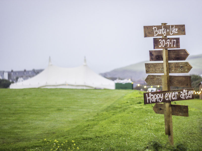 Wedding Marquee Hire By The Sea