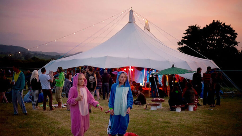 Funky Festival Marquee Hire